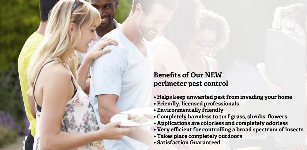 Benefits of our new perimeter pest control.